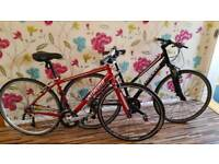 2 Specialized Aluminium 27 Speed Bikes