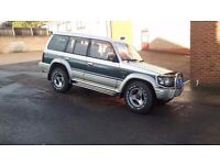1992 Mitsubishi Pajero 2.5TD Auto Exceed 7 Seater 4x4 4wd Shogun L200 Not Trooper Discovery
