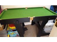 For sale foldable pool table