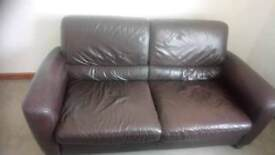 Brown sofa in really good condition