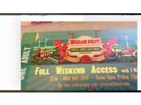 Welsh Fest - 2 tickets - entry & Camping