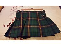 "44/48"" waist Modern Macdonald wool kilt in excellent condition"