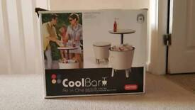 Keter Cool bar party table. Cooler