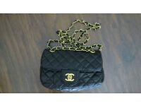CHANEL Real Lambskin Leather Small Quilted Flap Bag £40 (Price Includes Next Day Delivery)