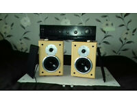 QUALITY AMPLIFIER + SPEAKERS