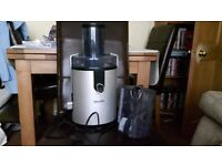 Phillips juicer. Good condition. Hardly used.