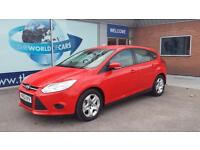 FORD FOCUS 1.6 TDCi Edge ECOnetic [88g/km] (red) 2012