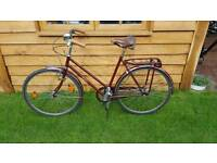 Pashley Princess vintage 60s single speed women's bike w/ basket (fully serviced ready to ride)