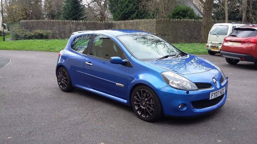 2007 clio 197 renaultsport albi blue 69k miles cambelt done just serviced in cwmbran. Black Bedroom Furniture Sets. Home Design Ideas