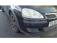 Vauxhall corsa for spare or to fix.