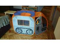 Kids Play Tent- Action Man Mission Tank