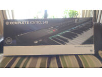 Native Instruments Kontrol S49 Keyboard - Boxed, as new.