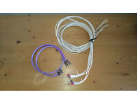 QED Qnect 1 Interconnect and QED Qudos Speaker Cable