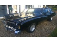 Exceptional 1974 Chevrolet Monte Carlo S V8 American Muscle