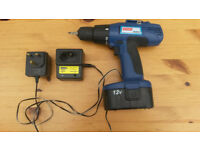 Cordless Electric Drill - Battery Driven