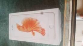 I phone 6 s plus Rosegold