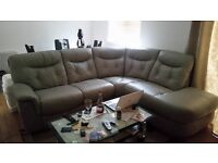 DFS Conner Leather Sofa, very clean and new