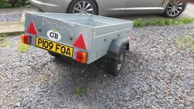 Caddy 530 trailer 5ft x3ft steel.