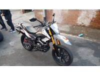 125cc Keeway TXM 125s Low Mileage cheap for sale today!!!!! Cash buyers only no swaps!!!! ⭐️O N O⭐️
