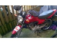 Honda CG 125cc Learner Legal Motorbike