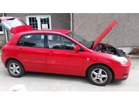 Toyota COROLLA T3 VVTi 1.4 2004 (Lady Owner for 12 years)
