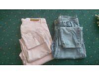 Pink Pair Only!! Ladies Jeans Miss selfridge and Deniem