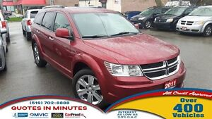 2011 Dodge Journey R/T | AWD | LEATHER | NAV | 7 PASS