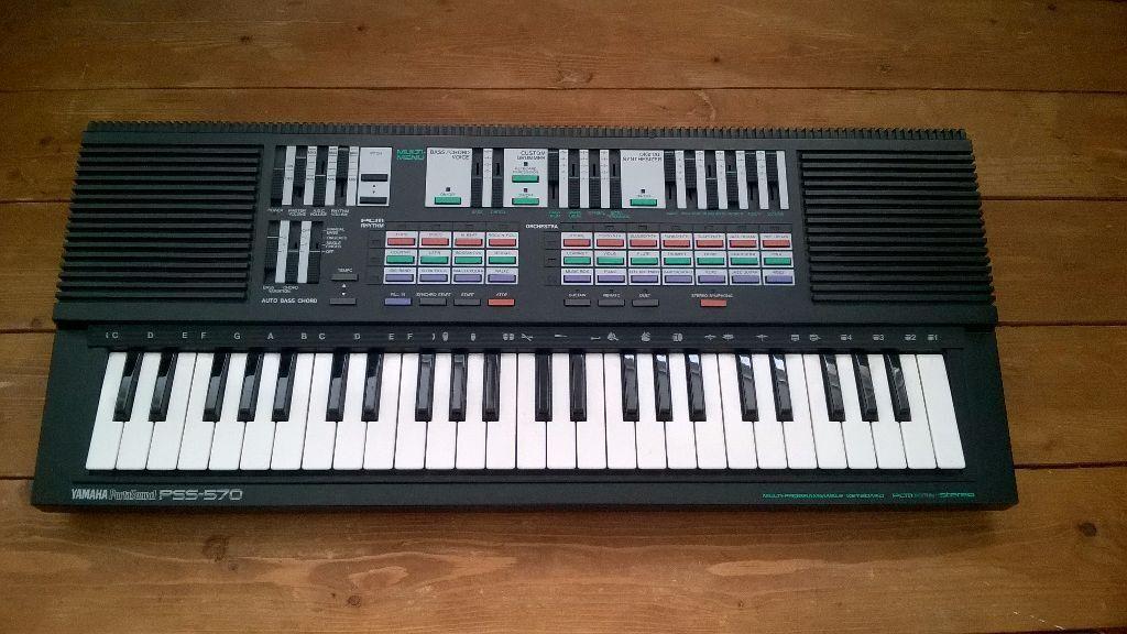Yamaha pss 570 fm keyboard roland korg in ibrox for Korg yamaha roland