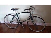 Vintage BSA Parachute bike - mint condition original frame - bottle green