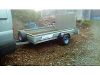 8x5 indespension trailer with ramp door