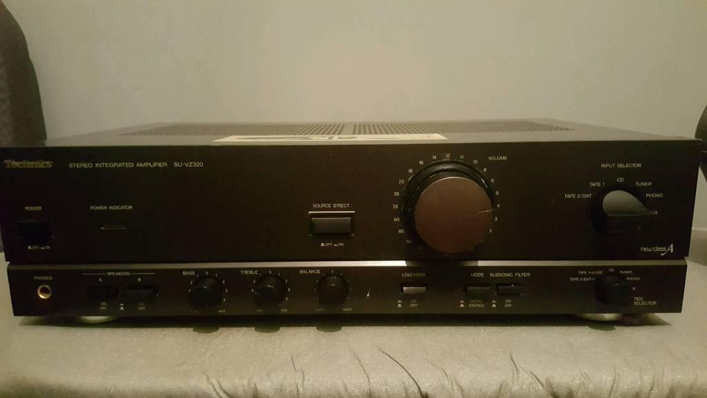 Technics stereo integrated amplifier SU-VZ320