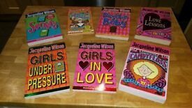 Jacqueline Wilson Books X7 books