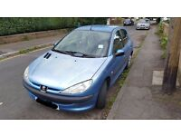 Peugeot 206, 2002 (02), Manual, Petrol