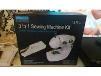 3 in 1 Compact Sewing Machine Used Once