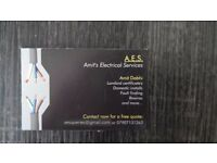 A.E.S. - Domestic Electrician Leicester.