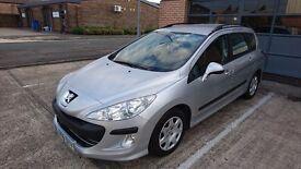 Peugeot 308 SW 1.6 HDi Silver 5dr Estate 12months MOT Diesel
