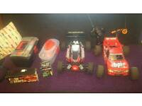 Rush evo 2 and bsd assault nitro cars sell or swap for pro brushless