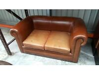 Good condition 2 seater leather sofa