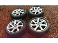Volvo 17inch wheels with winter tyres