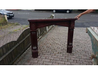 Solid Wood Fire Surround for Fireplace - Priced for Quick Sale or Offers