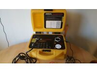 ROBIN Smartpat 5000 Pat tester complete with barcode scanner