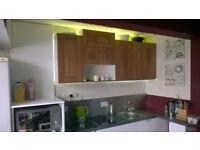Kitchen Walnut Shaker & Gloss