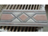 Vitra Dekor Wall Border Tiles x 45 - New & Unused