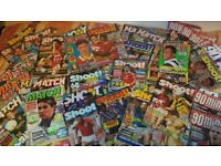 235+ magazines job lot... football, cars, music!