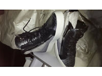 Men's Giuseppe Zanotti May London Snake High Top Trainers