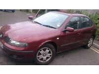 2002 Seat Leon 1.8 Auto -MOT to July17