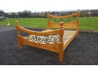 Beautiful king bed frame