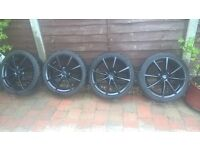 "17"" wheels from my mx5 but will fit other cars"