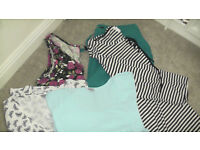 Bundle of top quality women's tops etc. VGC 5 items. All Size 20