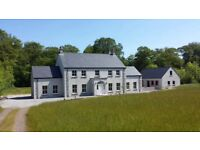 Large country house, 5/6 Bedrooms, 4 bathrooms, hand painted kitchen, log burning fires